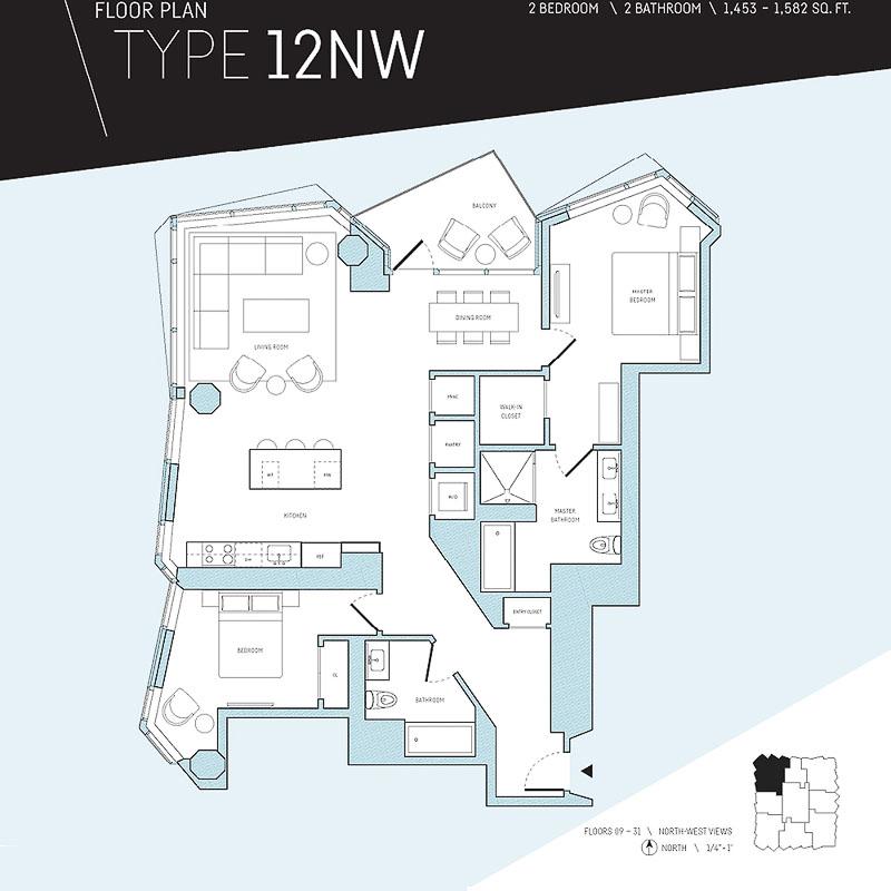 mira sf floor plan