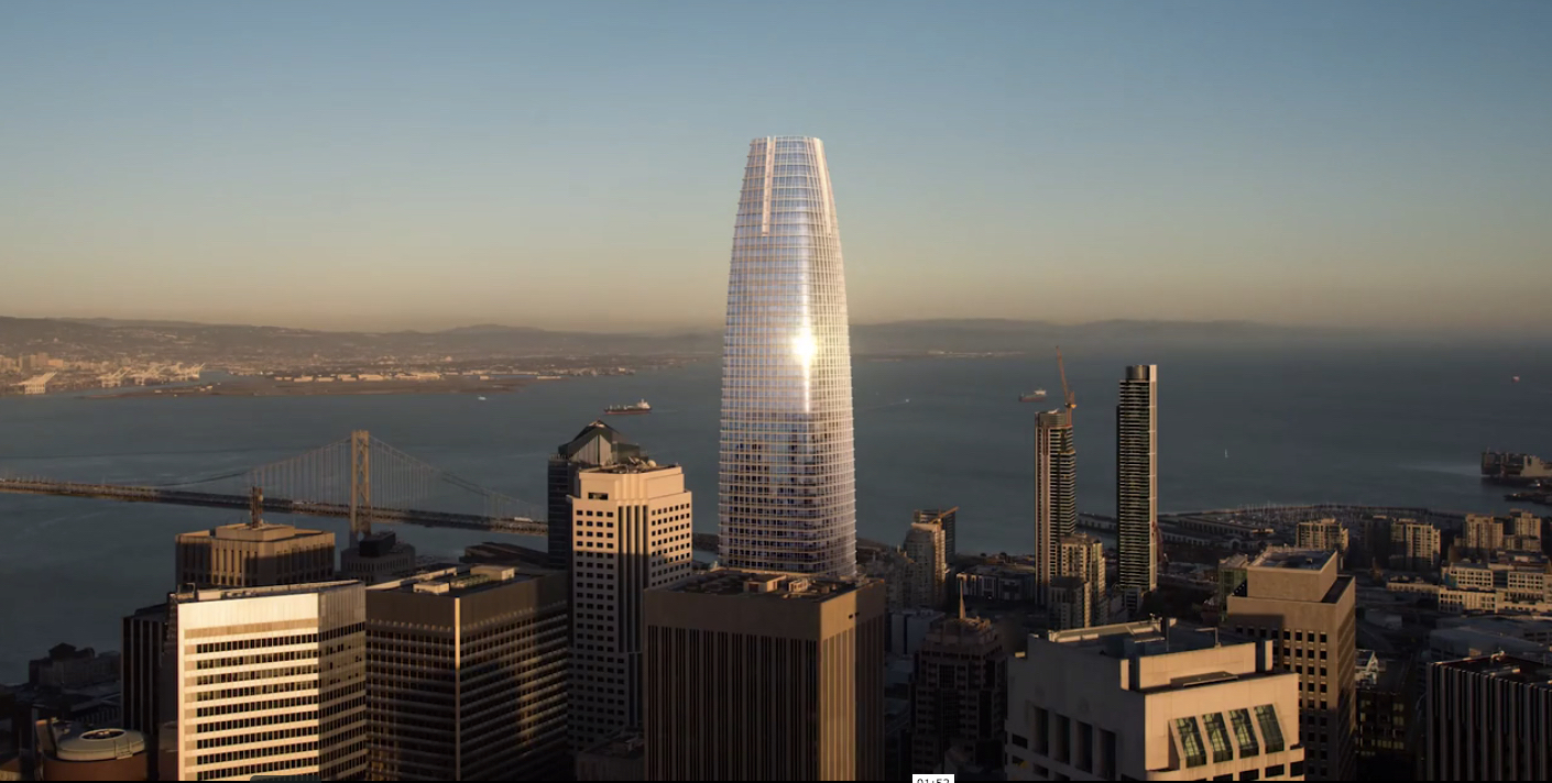Salesforce Tower Transbay Transit Center