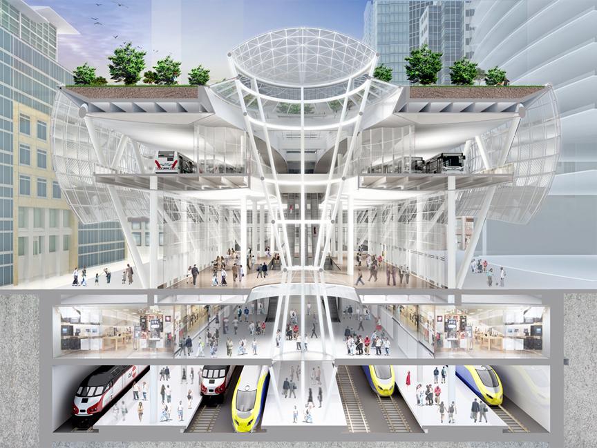 Salesforce Tower Transbay Transit Center