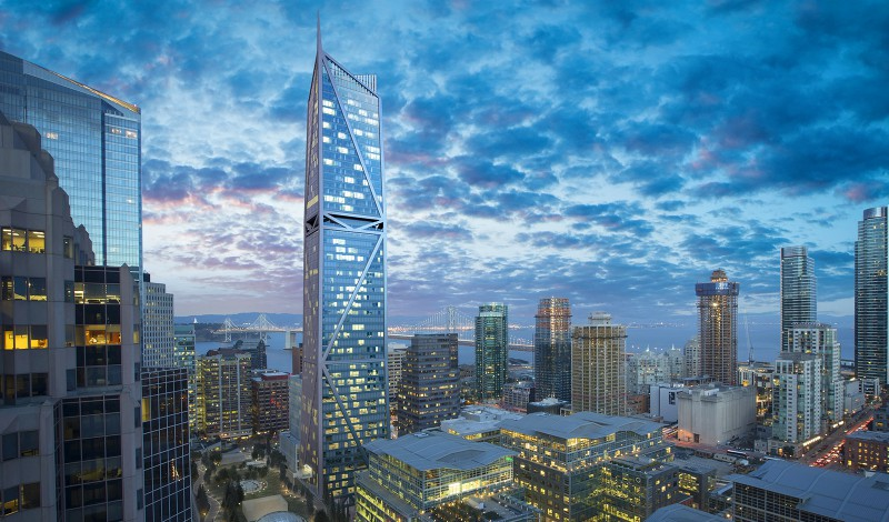 181 Fremont San Francisco skyline 2020