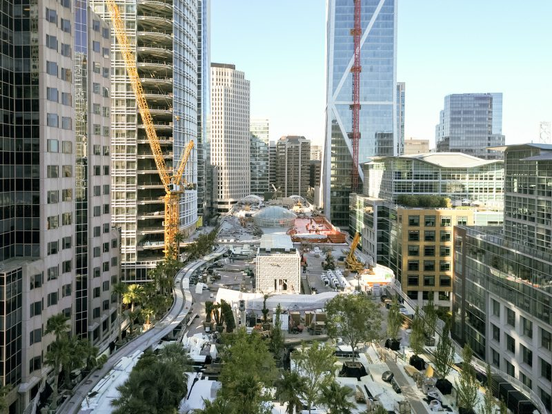 San Francisco Transbay Terminal Completion City Park
