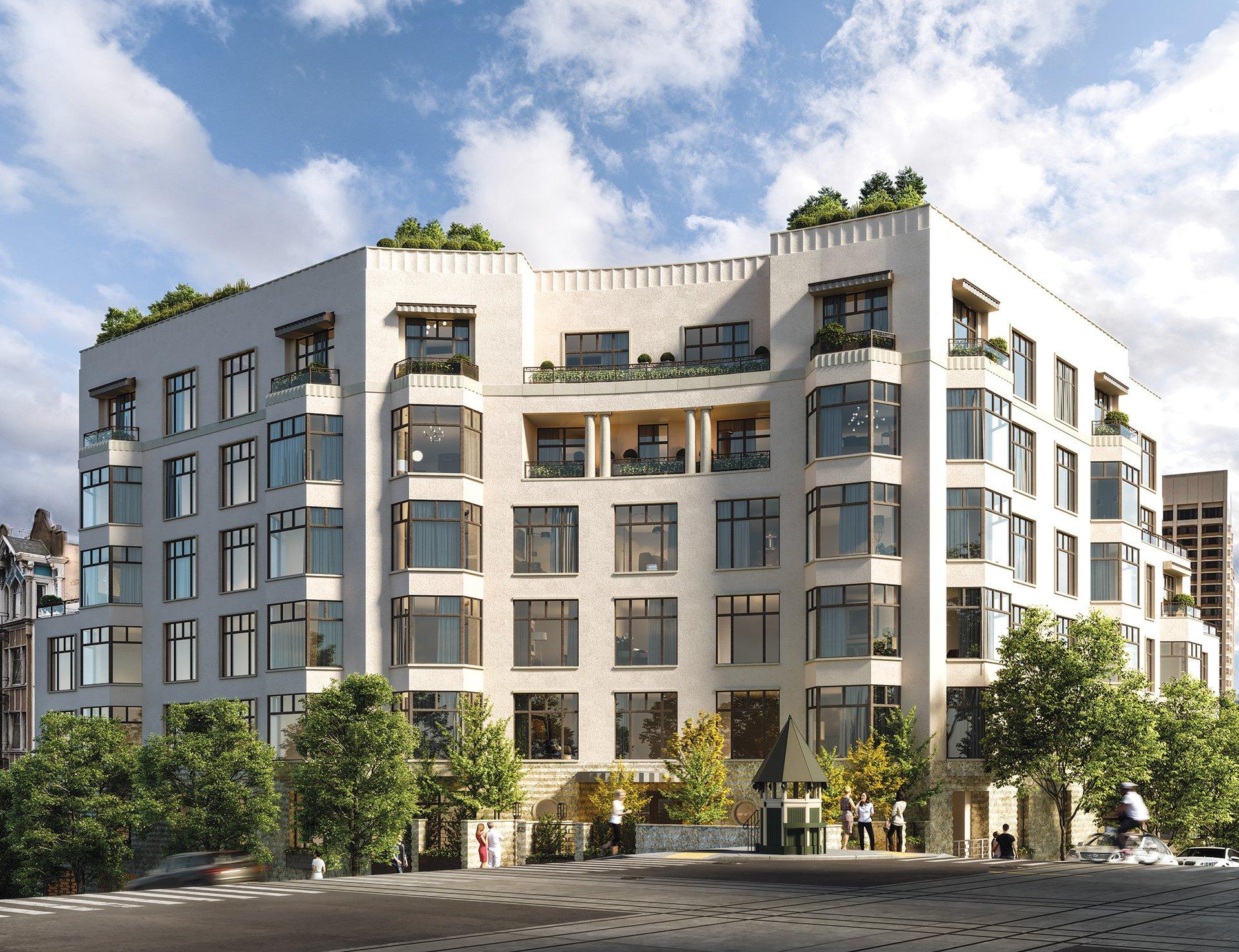 Crescent Nob Hill New Condo Residences Atop Nob Hill San Francisco